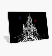 Mouse in Love at Midnight Laptop Skin