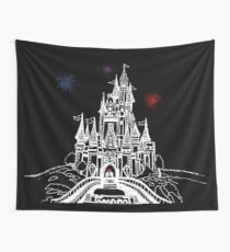 Mouse in Love at Midnight Wall Tapestry