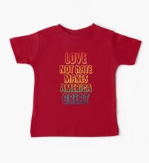 Love Not Hate Kids Clothes
