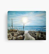 Folly - Folly Beach, South Carolina Canvas Print