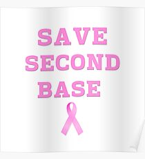 Save Second Base Poster