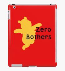 Zero Bothers | Winnie the Pooh iPad Case/Skin