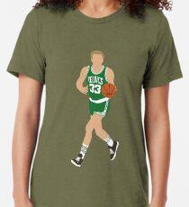 Camiseta de tejido mixto Larry Bird