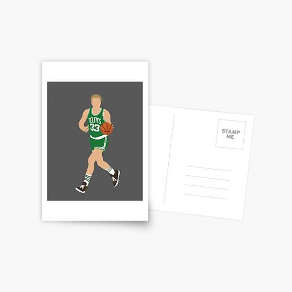 Larry Bird Postcard