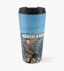 Kim riding horse Travel Mug