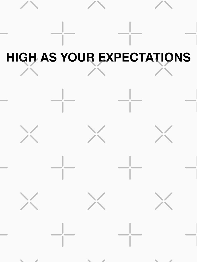 your expectations