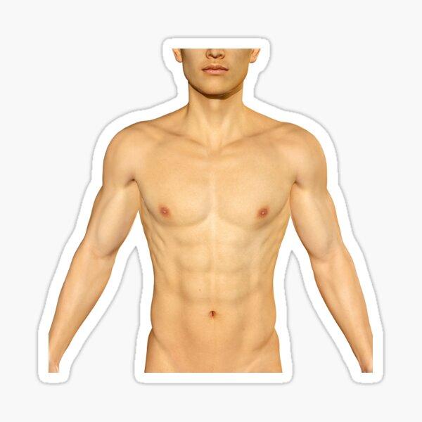 My sexy abs Sticker
