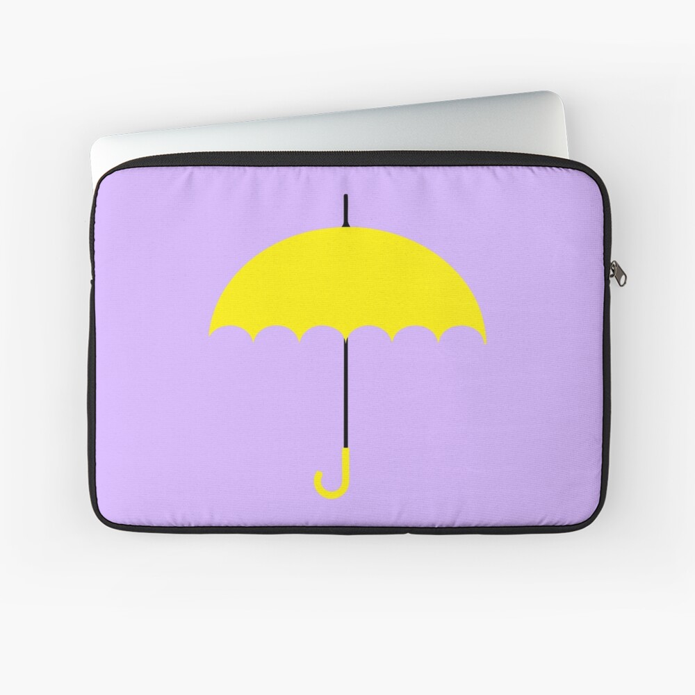 Paraguas amarillo - HIMYM Funda para portátil