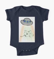 ALIEN COW ABDUCTION RAY FANTASY One Piece - Short Sleeve