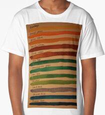 Colour Long T-Shirt