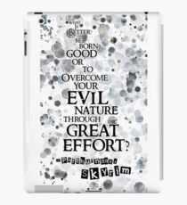 Paarthurnax Quote iPad Case/Skin
