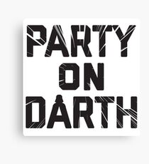 Party  On Canvas Print