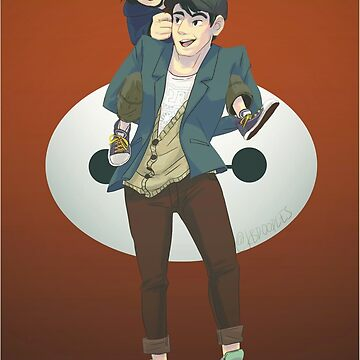 Tadashi is here! by kbdoodles