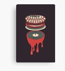 Let It Bleed Canvas Print