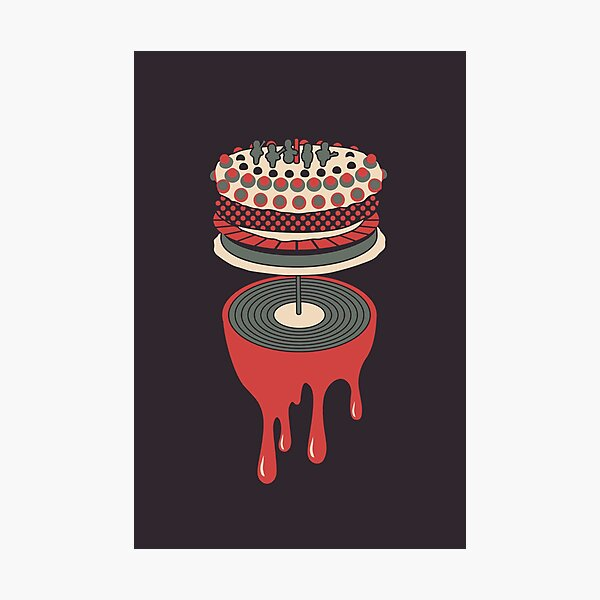 Let It Bleed Photographic Print