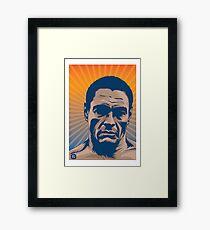 Rickson Gracie Portrait Framed Print