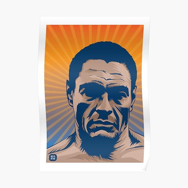 Rickson Gracie Portrait Poster