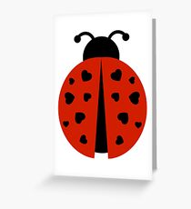 ladybug love Greeting Card