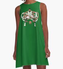 Gnarly Kyrie Celtics A-Line Dress