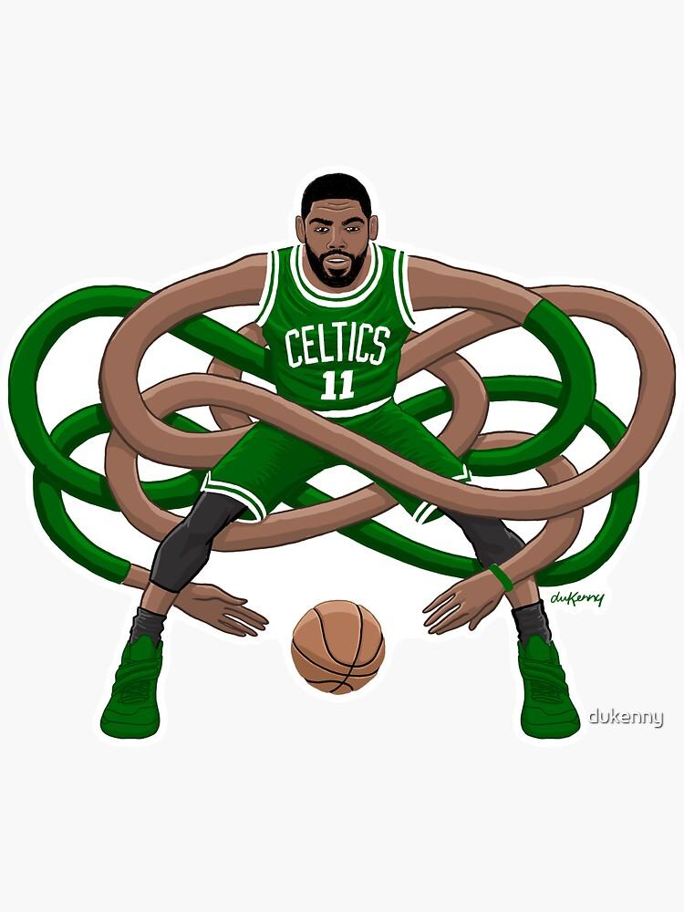 Gnarly Kyrie Celtics by dukenny