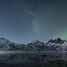 Arctic mountain range - Norway by Frank Olsen