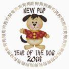Born Year of The Dog Baby 2018 Chinese Zodiac by ChineseZodiac