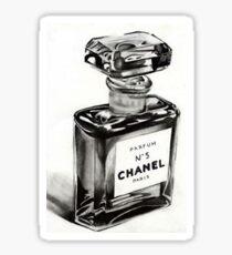 Perfume Bottle Pop Art Sticker