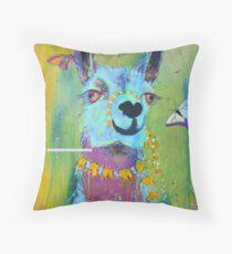 Llama for Hannah Throw Pillow
