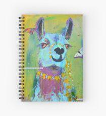Llama for Hannah Spiral Notebook