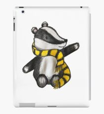 Badger Mascot iPad Case/Skin