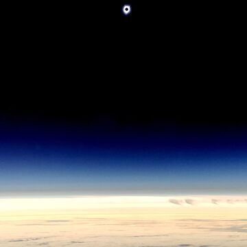 Total Solar Eclipse Over the Pacific Ocean by tanyaofmars