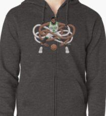 Gnarly Kyrie Celtics Zipped Hoodie