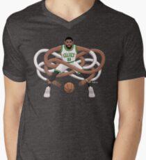 Gnarly Kyrie Celtics Men's V-Neck T-Shirt