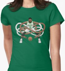 Gnarly Kyrie Celtics Women's Fitted T-Shirt