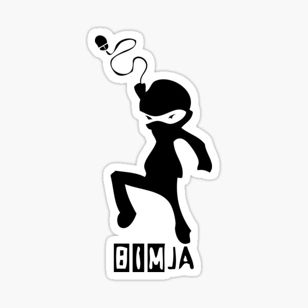 BIMja - The Architectural Ninja Sticker