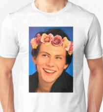 Christian Slater Flower Crown T-Shirt