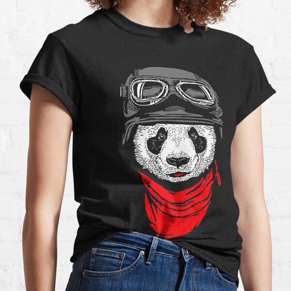 Panda pilot T-shirt classique