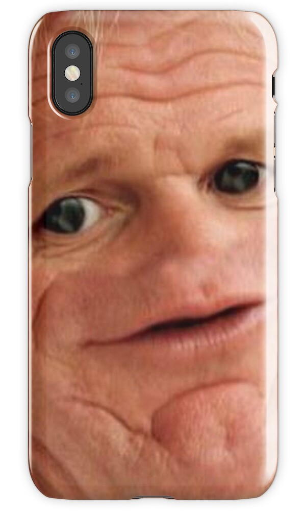 Quot Gordon Ramsay Quot Iphone Cases Amp Covers By Balzac Redbubble