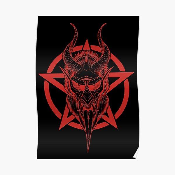 Krampus (red) Poster