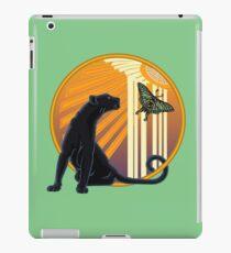 Art Deco Jaguar Plain iPad Case/Skin