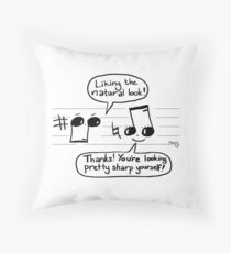 Musikalische Komplimente Dekokissen