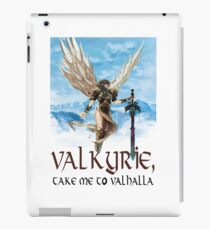 Valkyrie, Take Me To Valhalla iPad Case/Skin