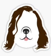 The Hound Dog Sticker