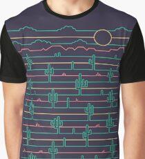 Saguaro Sunrise Graphic T-Shirt