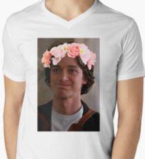 James McAvoy Flower Crown T-Shirt