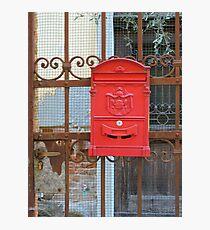 Swedish Post Box Photographic Print