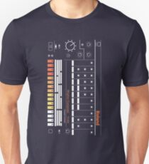 Synthesizer - Roland TR-808 | Retro | Music Producer | Synth | Drum Machine T-Shirt