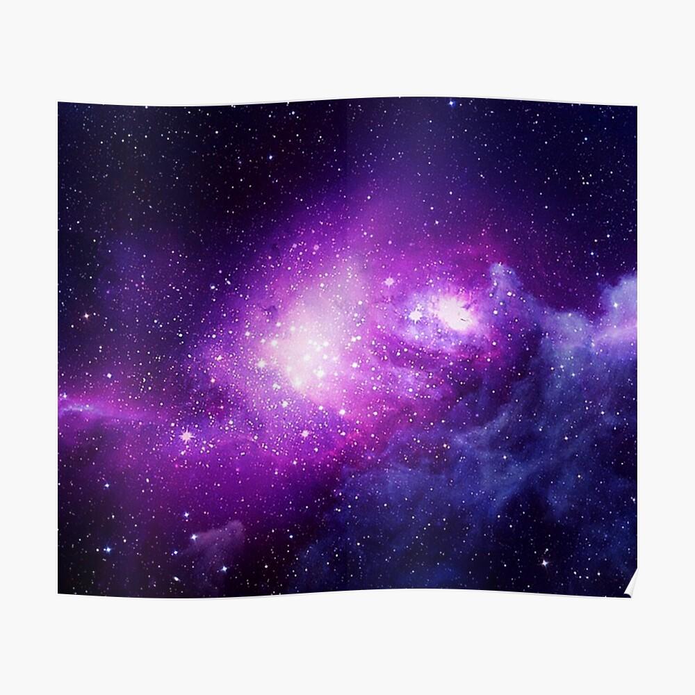 H-2457 Solar System Milky Way Galaxy Space Stars Nebula Wall Silk Poster