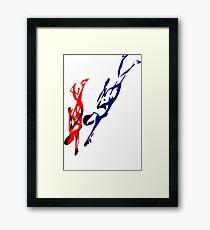 Diving  Framed Print