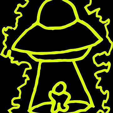 Alien Abduction by eddiedieter